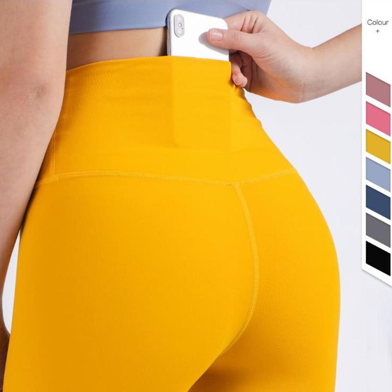 Vnazvnasi Hot Sale Fitness Female Full Length Leggings 11 Colors Running Pants Formfitting Girls Yoga Pants
