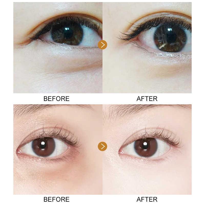 EFERO 60 sztuk kolagen wodorosty kryształowe oko łatka maska na oczy odżywiają i nawilżają usuń ciemne koła zmarszczki pielęgnacja oczu TSLM1
