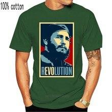 Fidel Castro Männer Weiß T-shirt Kuba Tribut HAVANNA 1965 T Hemd