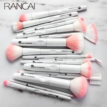 17 pçs kit completo pincéis de maquiagem conjunto escova de cosméticos em pó sombra escova facial fundação pincéis de maquiagem com frete grátis