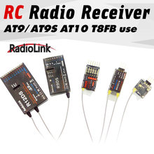 Radiolink R12DSM R12DS R9DS R8FM R6DSM R6DS R6FG Rc Ricevitore Del Segnale 2.4G per RC Trasmettitore AAT9/AT9S/AT10/AT10II