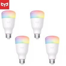 Le plus nouveau Yeelight RGB LED ampoule intelligente 1S/1SE E27 8.5W 800 Lumens WiFi ampoules pour MiHome forApple Homekit télécommande