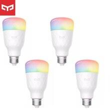 Najnowszy Yeelight RGB inteligentna dioda LED 1S/1SE E27 8.5W 800 lumenów WiFi żarówki dla MiHome forApple Homekit pilot