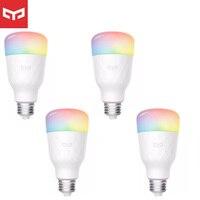 Yeelight-bombilla inteligente LED RGB, 1S/1SE E27, bombillas wi-fi para MiHome, Control remoto para Apple Homekit