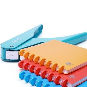 Image 5 - Т образные дыроколы для блокнота, ручная штамповочная машина для скрапбукинга, бумаги «сделай сам», офисное крепление, Дырокол