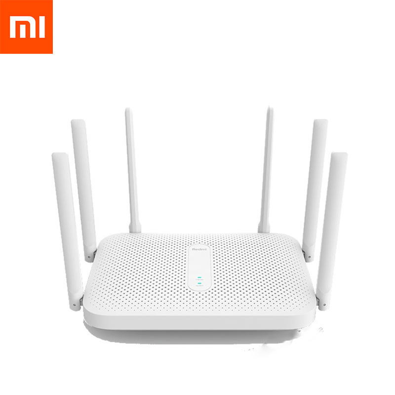 Xiaomi Redmi AC2100 Router Gigabit 2.4G 5.0GHz Dual-Band 2033Mbps Wireless Router Wifi Repeater With 6 High Gain Antennas Wider(China)