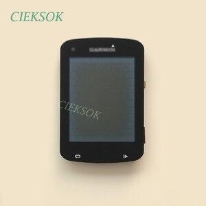Image 2 - Ekran LCD z dotykowy Digitizer dla Garmin EDGE 820 roweru prędkościomierz nawigacja GPS wymiana części zamiennych