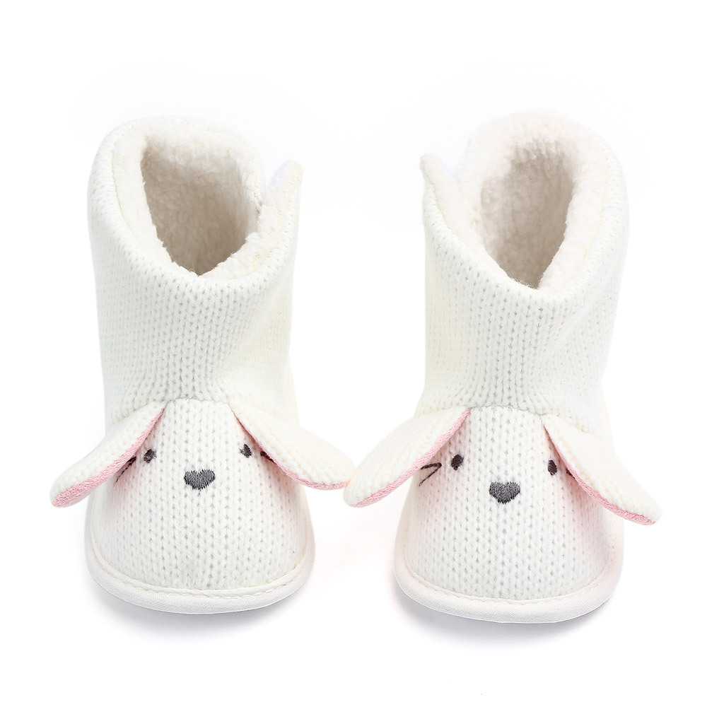 Winter Boots Cute Wool Baby Snow Boots Boy Baby Girl Warm Knit Crochet Socks Toddler Baby Boots Baby Winter Shoes
