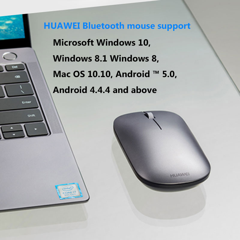 Image 5 - HUAWEI AF30 Wireless Mouse Bluetooth 4.0 wireless Optical Silent Mouse Supports TOG for Matebook 13/14/X Pro/EMice   - AliExpress