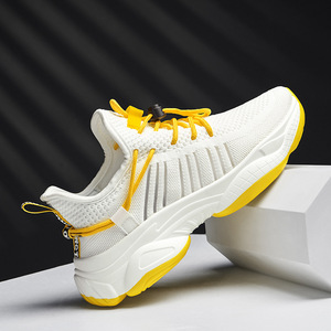 Image 2 - 2019 New Mesh Men Casual Shoes Lac up Men Shoes Comfortable Breathable Lightweight Walking Sneakers Tenis Feminino Zapatos