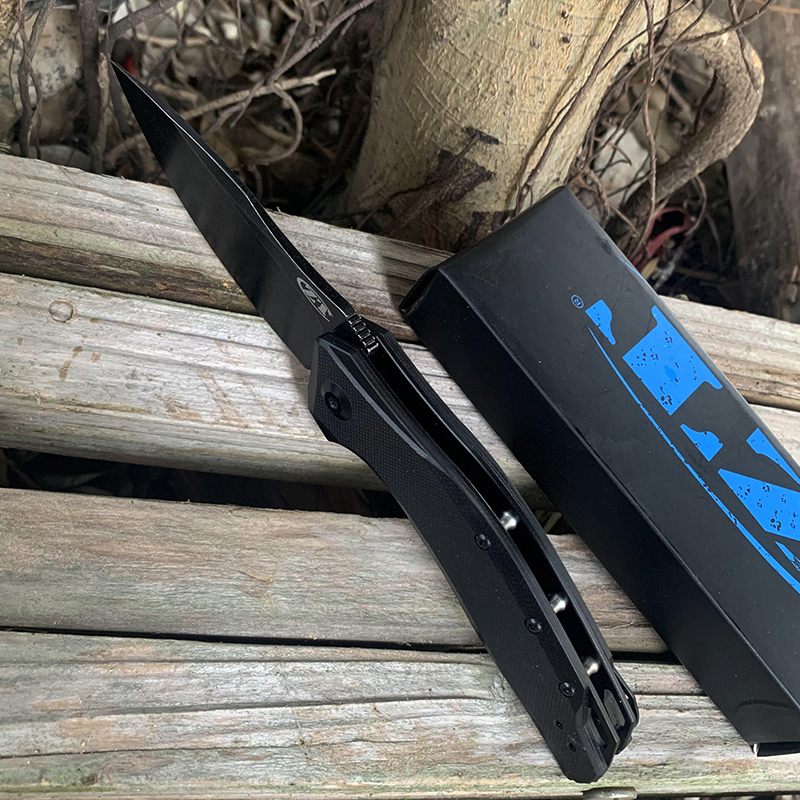 Tools : EDC ZT0357 Folding Knife G10 Handle outdoor tactical hunting Knives Original color box packaging
