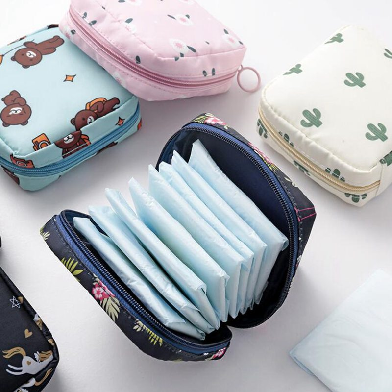 Mini Women Cosmetic Bag Cactus Travel Makeup Bags Toiletry Storage Bag Beauty  Cosmetics Organizer Zipper Make Up Case Pouch