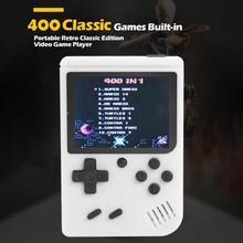 Consolas de juegos Retro portátiles con pantalla de 3 pulgadas, 400 Juegos para juegos FC para niños, niños y niñas, Inglés chino opcional