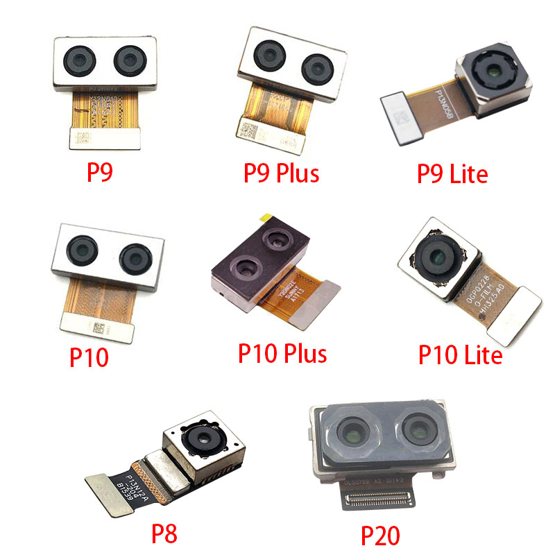 New Rear Big Back Camera Flex Cable Main Camera Module For Huawei P8 Max P9 P10 Plus P20 P30 Lite Replacement Parts