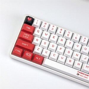 Image 3 - Sega Mario Keycap Cherry Original Profile 5 face DYE Sublimation Mechanical Keyboard Keycaps 1.75U 2U 2.25U Shift 6.25U Spacebar