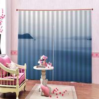 3d marine scenery pattern shower curtains living room bedroom blackout curtains