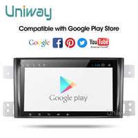 Uniway AWTL8071 2G + 32G android 9.0 dvd de voiture pour suzuki grand 2006-2011 vitara multimédia autoradio stéréo gps avec volant