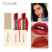 FOCALLUER Chocolate Lipstick Matte Long Lasting Moisturizing Velvet lipstick Beauty Lip Makeup недорого