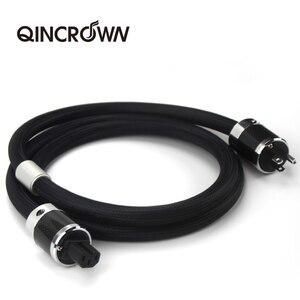 Image 5 - QINCRQWN Cable de alimentación de Audio HIFI, con enchufe estadounidense, australiano, Europeo, 4N, cable de CA, cable de audio hifi, amp cd