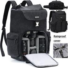 CADeN Camera plecaki wodoodporne torby o dużej pojemności dla Nikon Canon Sony DSLR Len statyw torba podróżna na zewnątrz dla kobiet mężczyzn tanie tanio Kamera DSLR System Kamery lustra Punkt i Strzelać Kamery BŁYSKAWICZNY APARAT FOTOGRAFICZNY LENS Lensx2 Lensx3 DSLR Camerax2