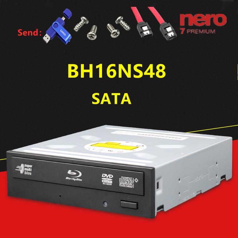 Встроенный Настольный видеорегистратор Blu ray bh16ns48, Запись DVD, BD диск с поддержкой 3D Blu ray 16x, подходит для дисков Blu ray|Оптические дисководы|   | АлиЭкспресс