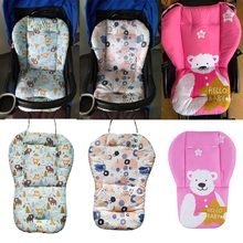 Impressão animal universal carrinho de bebê cadeira alta assento almofada forro esteira do carrinho colchão cadeira alimentação almofada capa protetor