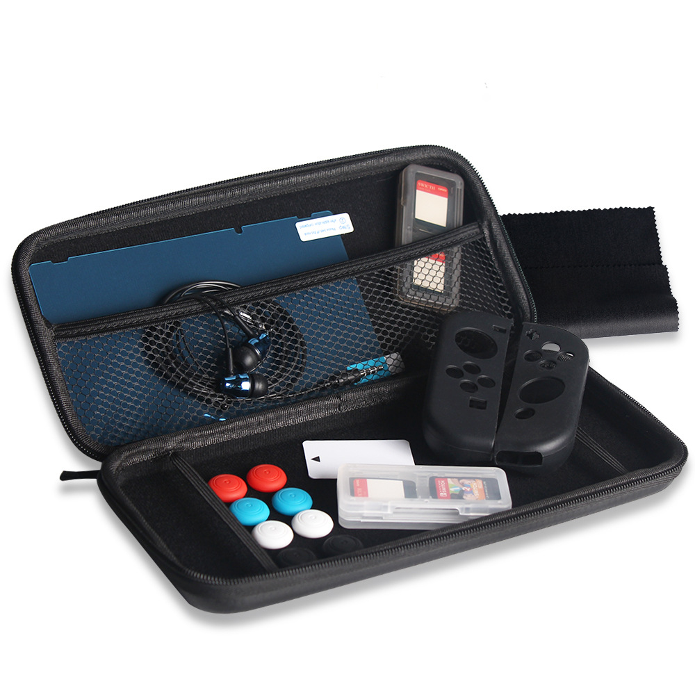 Switch Mainframe 13-in-In1 Set NS Cassette + Earphones + Silicone Case CAP + Hard Bag + Tempered Protector Set