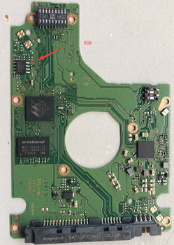 WD Hard Disk Circuit Board Board Number 2060-800066-006 Lock-free Version Supports PC3000 Access Firmware
