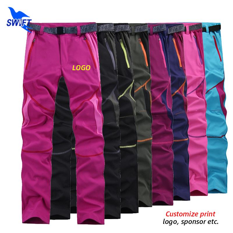 Mens Fishing Hiking Trousers Outdoor Camping Quick-Dry Pants Bottoms