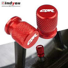 Logotipo CBR CNC Roda Airtight Válvula do Pneu caps Para CBR650F CBR650R CBR600 CBR600RR CBR900RR CBR929RR CBR954RR CBR1000RR CBR1000XX