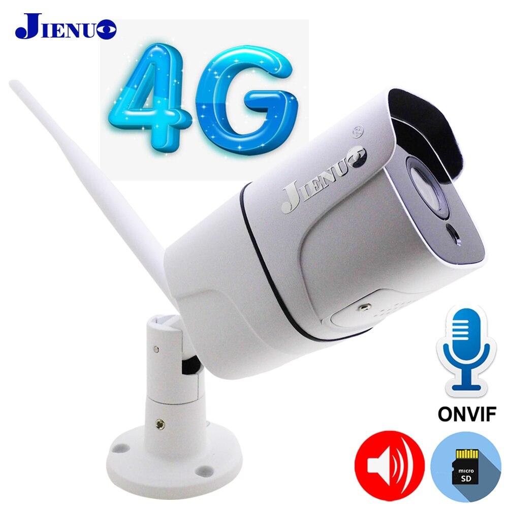 3G 4G Nano sim карта IP камера 1080P HD беспроводная WIFI наружная охранная цилиндрическая камера CCTV металлическая P2P Onvif Двусторонняя аудио JIENUO|Камеры видеонаблюдения|   | АлиЭкспресс