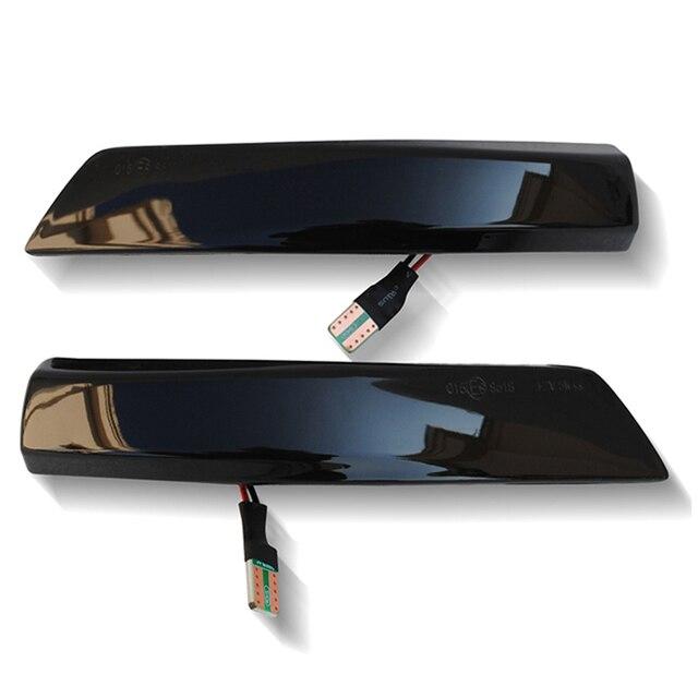 Фото 2x боковой зеркальный индикатор динамический поворотный светодиодный цена