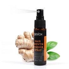 Sevich natural gengibre ingrediente regeneração spray de crescimento do cabelo nutricional promover o produto de cuidados capilares tslm1