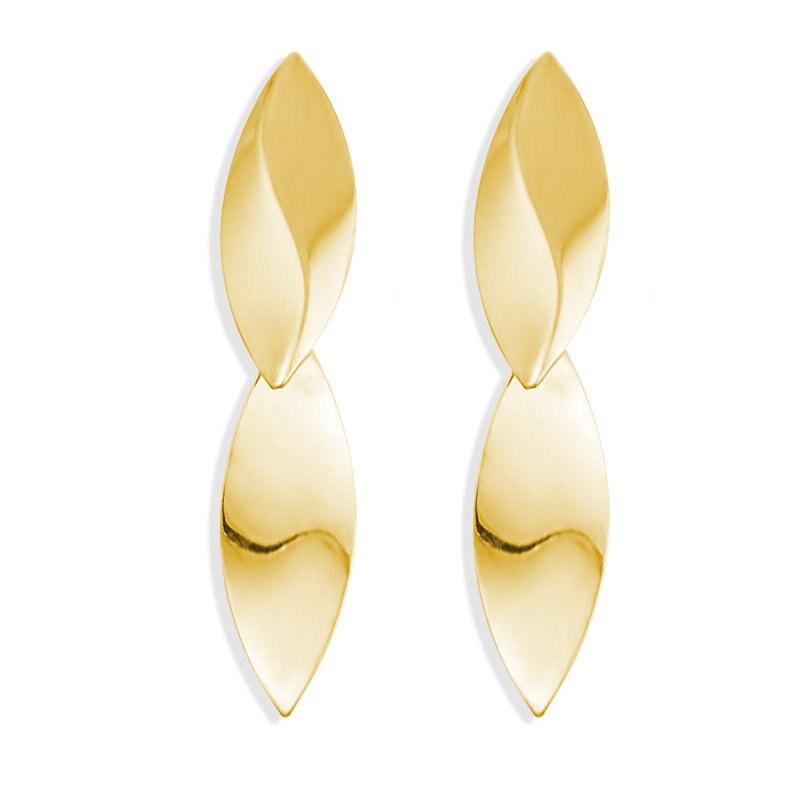 17 км винтажные Золотые круглые металлические серьги-гвоздики с блестками для женщин, модные серьги с полой сеткой, корейские ювелирные изделия, вечерние серьги, подарок - Окраска металла: CS5465