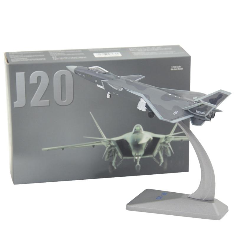 JASON TUTU Aircraft Plane Model  F-twenty J10 J20 J31 Metal Airplanes Model Stealth Fighter Z9 Z19 Helicopter 1:144