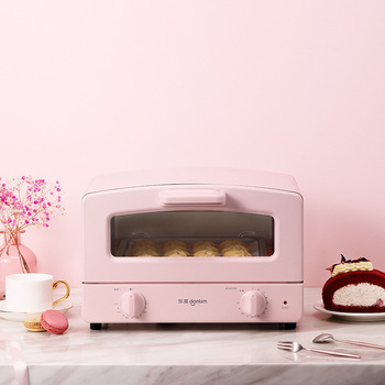 Donlim Electric Oven 12L Fully Automatic Mini Pizza Oven Household Kitchen Appliances Electric Toaster Oven Tart Timing Baking 3