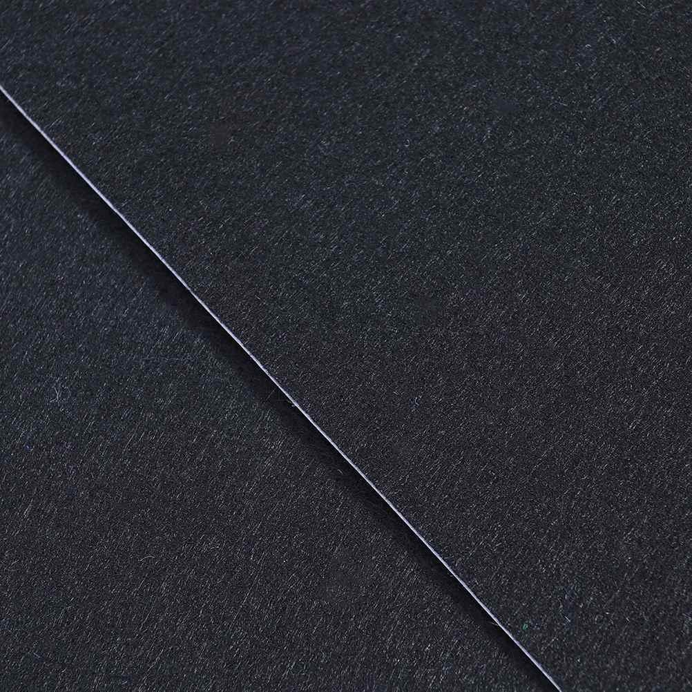 20 штук черный мебельные колодки войлочные листы fieltro adhesivo самоклеющиеся листы войлока многоцелевой для искусства и ремесленничество (черный)