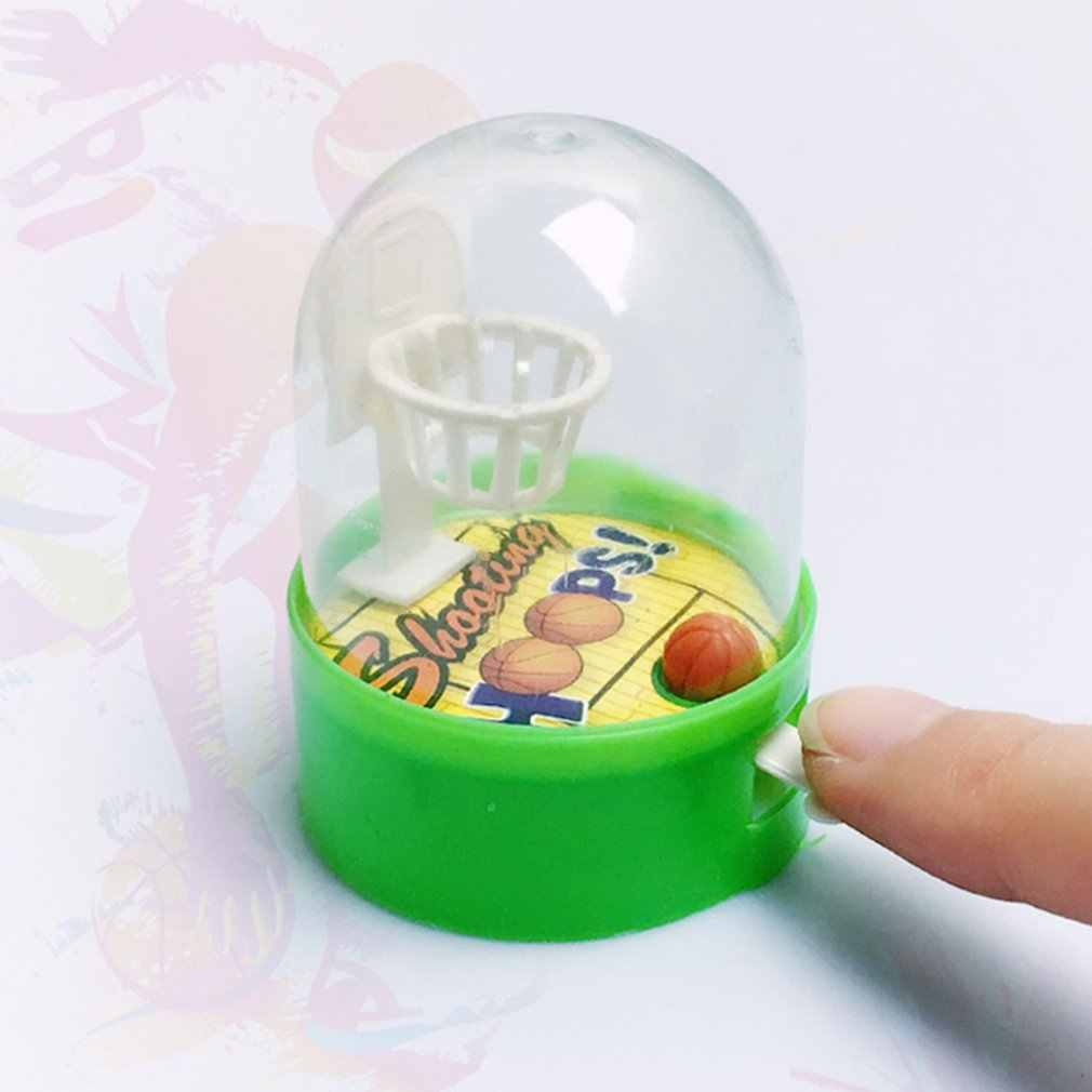 Mini Pocket Basketbal Palm Basketbal Shooting Game Kinderen Puzzel Desktop Speelgoed Ouder-kind Interactief Speelgoed