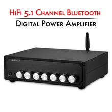 Nobsound HiFi סטריאו 5.1 ערוץ Bluetooth 5.0 כוח מגבר בית Class D דיגיטלי אודיו Amp