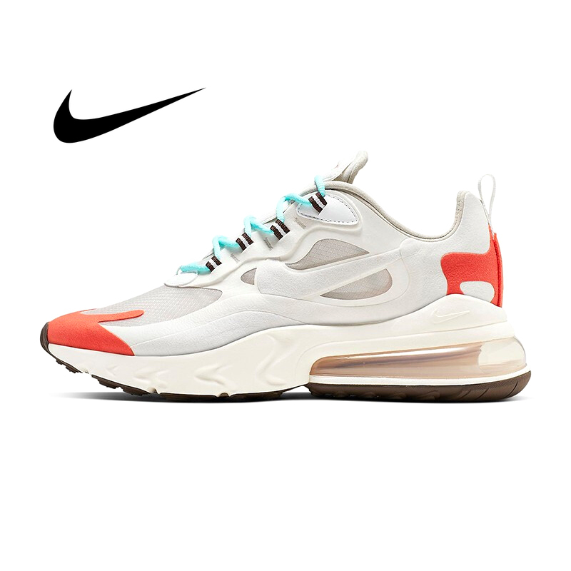 Original Authentic Nike Air Max 270 React Men's Running Shoes Sports Shoes Classic Outdoor Casual Fashion Trend New AO4971-400