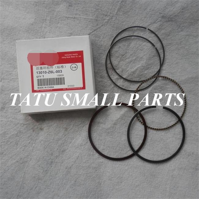 GX630 GENUINE PISTON RING SET FITS HONDA GX690 V-TWIN EM10000 ET12000 KOLBEN OIL COMPRESSOR RINGS 13010-Z6L-003 FREE SHIPPING