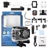 H16R Action Kamera 4k 60fps Outdoor Foto-shooting Sport Kamera mit Einstellbare Ansicht Winkel Web Wasserdichte Sport Kamera