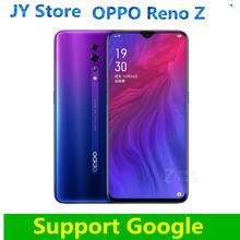 New Original OPPO Reno Z 6.4″AMOLED Water drop screen Support NFC 2340×1080 4035mAh Octa Core Fingerprint+Face ID