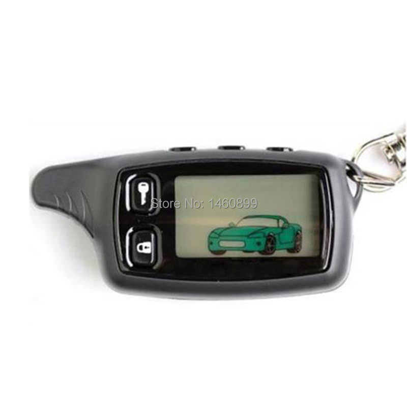 TW 9010 LCD Remote Control Keychain For Russian Tomahawk TW9010 Two Way Car Alarm Tomahawk TW-9010 TW7000 D700 D900 Lr950 S-700