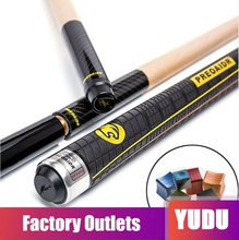 PREOAIDR 3142 S2 2 in 1 Pool Punch&Jump Cue Break&Jump 13mm Tip Billiard Stick Jump Cues Sport Handle with Chalk Holder Gift