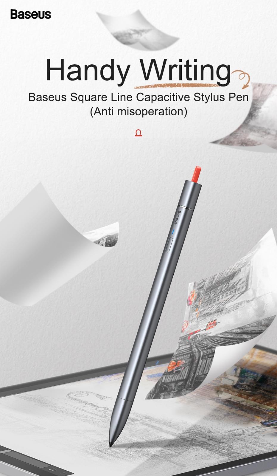 Baseus Square Line Capacitive Stylus Pen 6