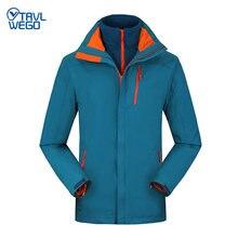 Trvlwego winter outdoor hiking jacket ski men windproof waterproof