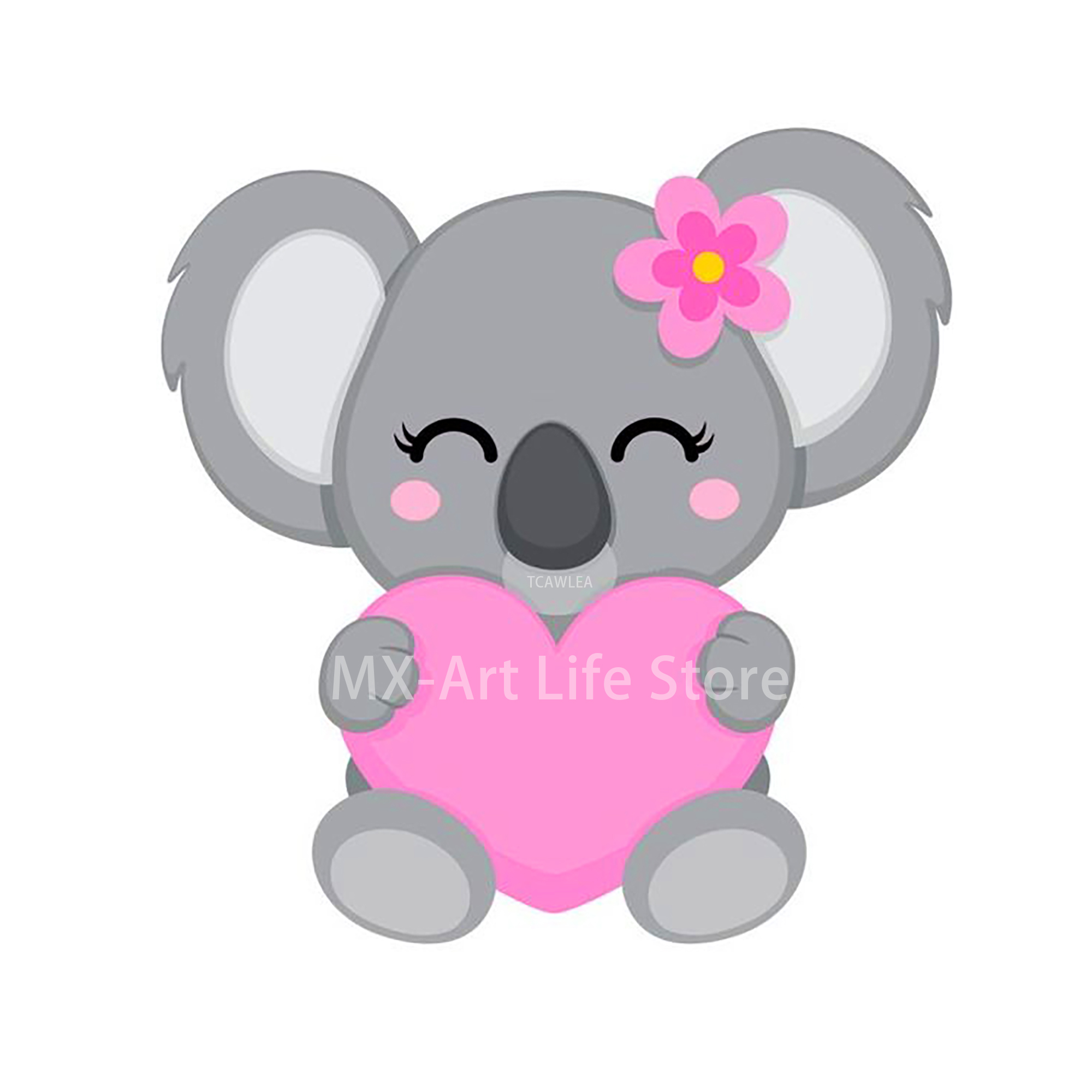 2020 Love Flower Sloth Girl Cutting Dies Animal Baby Doll Craft Stencil for DIY Scrapbooking Cards Decorative(China)