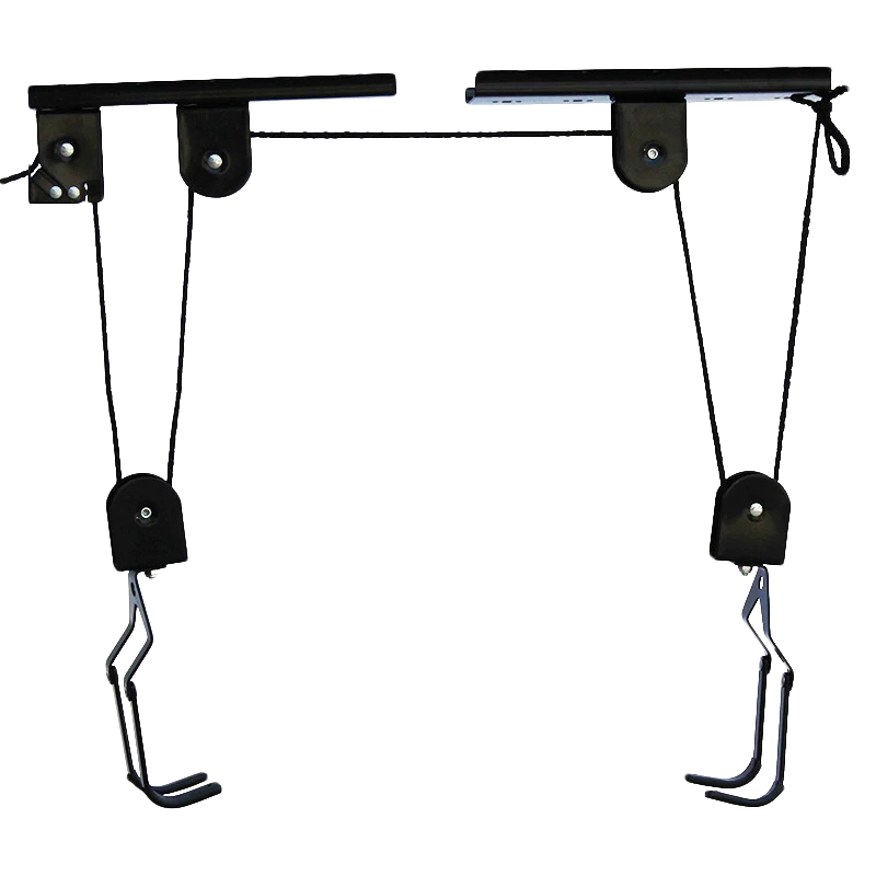Kayak&Canoe Pulley System Kayak Storage Hoist Garage Ceiling Pulley Rack 125Lb