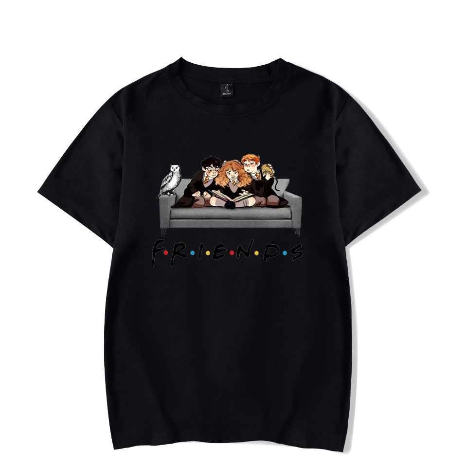 Vrienden Tv Show Femme Shirts Grafische Vrouwen T-shirt Harajuku Zomer 90S Tshirt Streetwear Womens Tops Tees T-shirt Korte mouw
